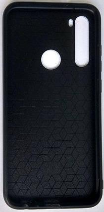 "Силіконовий чохол ""Скляний Shine Gradient"" Xiaomi Redmi Note 8 (Deep blue) #10, фото 2"