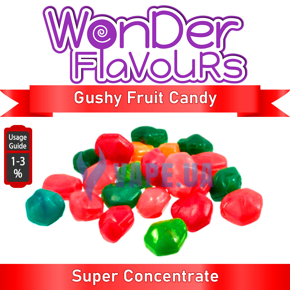 Wonder Flavours (SC) - Gushy Fruit Candy (Фруктовая конфета)
