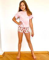 Літня дитяча піжама для дівчинки