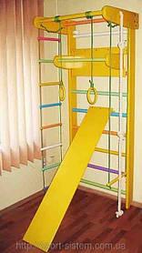Спортивная (шведская) стенка для дома цветная Львёнок20