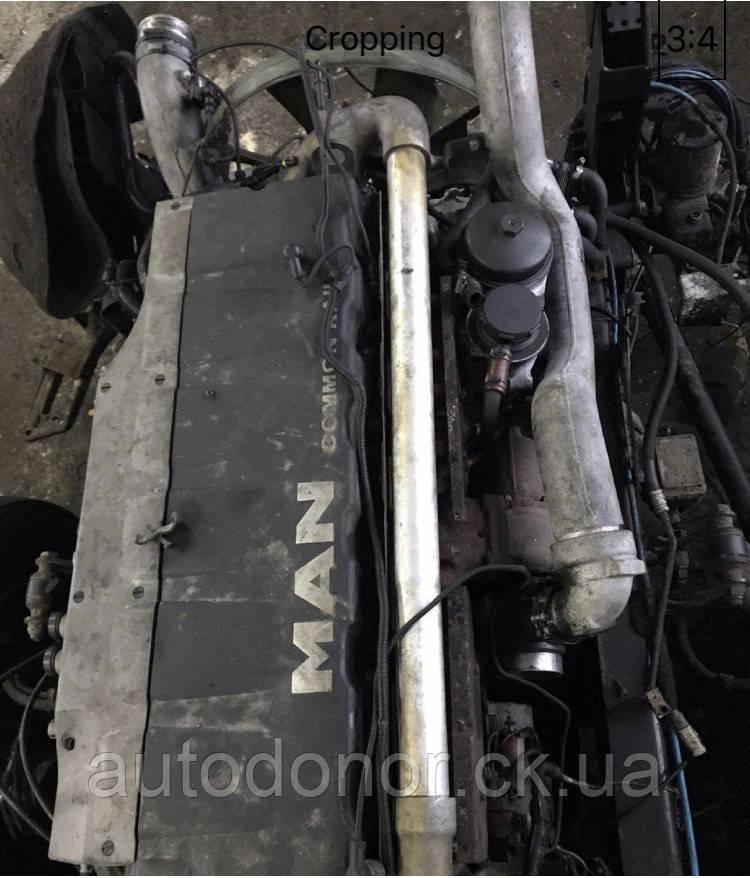 Двигатель на MAN TGX Common Rail 18.440