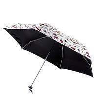 Пляжный зонт на прочном каркасе с милым декором! Небольшой зонт от дождя или солнца с защитой от УФ!, фото 1