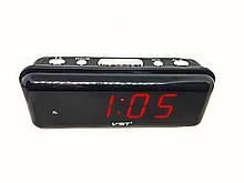 Часы в сеть VST-738-1 красные цифры