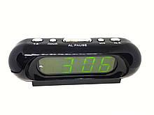 Часы в сеть VST 716-2 зеленые