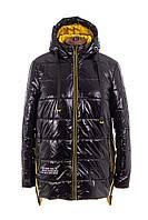 Женская весенняя куртка  большого размера  52-58 желтый