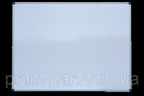 Доска магнитная для письма маркером 90*120см алюминевая рамка ВМ.0003, фото 2