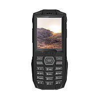 "Мобильный телефон Blackview BV1000 Dual Sim Black (6931548305606); 2.4"" (320х240) TN / клавиатурный моноблок / MediaTek MT6261 / ОЗУ 32 МБ / 32 МБ"