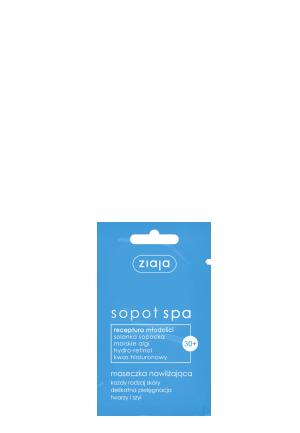 Увлажняющая маска 7ml, Sopot SPA 30+, Ziaja