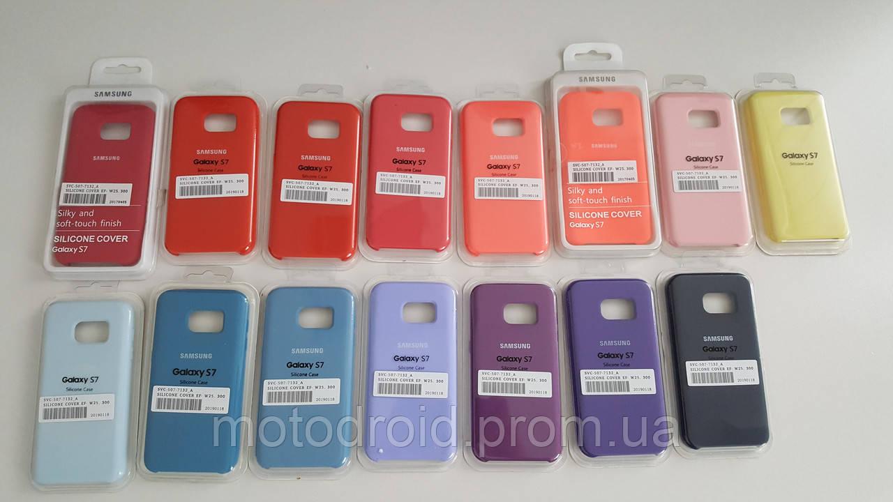 Чохол для Samsung Galaxy S7 Silicone Case