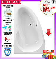 Асимметричная акриловая ванна 140x95 см Excellent Newa Plus WAEX.NEL14WH левосторонняя