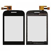 Touchscreen (сенсорный экран) для Fly E145 TV, оригинал (черный)
