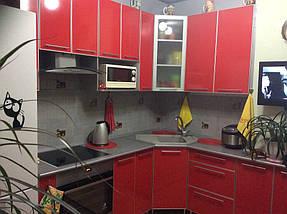 Кухня пластик в профиле №6, фото 3