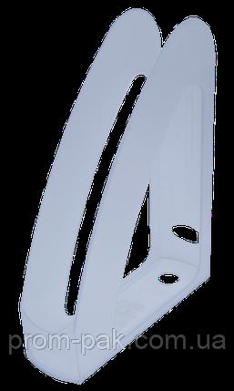 """Лоток пласт. д/пап. вертик. """"Радуга"""" з передньою стінкой, JOBMAX, прозорий, фото 2"""