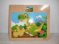 Деревянная игрушка Рамка Пазлы арт 001-016