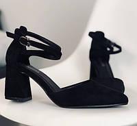 Женские туфли на каблуке 6,5 см размер 36 - 40