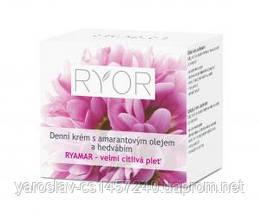 Дневной крем с амарантовым маслом и шелковым экстрактом для очень чувствительной кожи , Ryor (Риор) Чехия 50мл