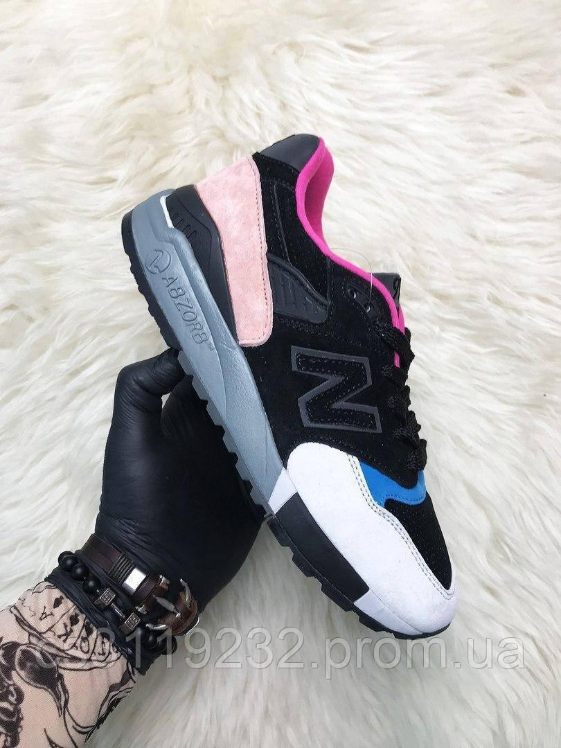 Жіночі кросівки New Balance 998 Black Peach (мультиколор)