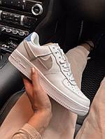 Женские кроссовки Nike Air Force 1 Low WHITE | цветные задники