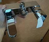 Душевая система со смесителем с поворотным изливом, с верхним и ручным душем HB Milano, фото 4