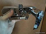 Душевая система со смесителем с поворотным изливом, с верхним и ручным душем HB Milano, фото 3