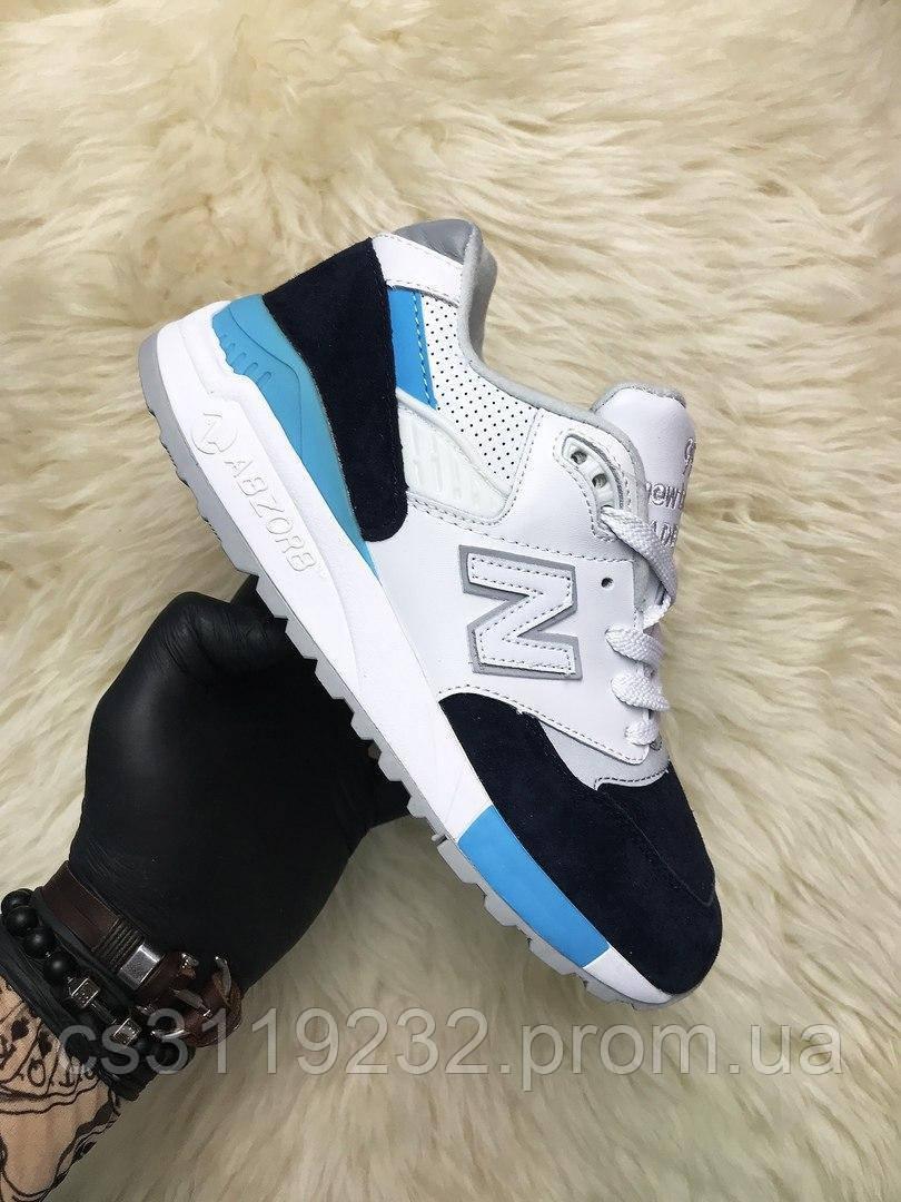Жіночі кросівки New Balance 998 Winter Peaks (білий/синій/блакитний)