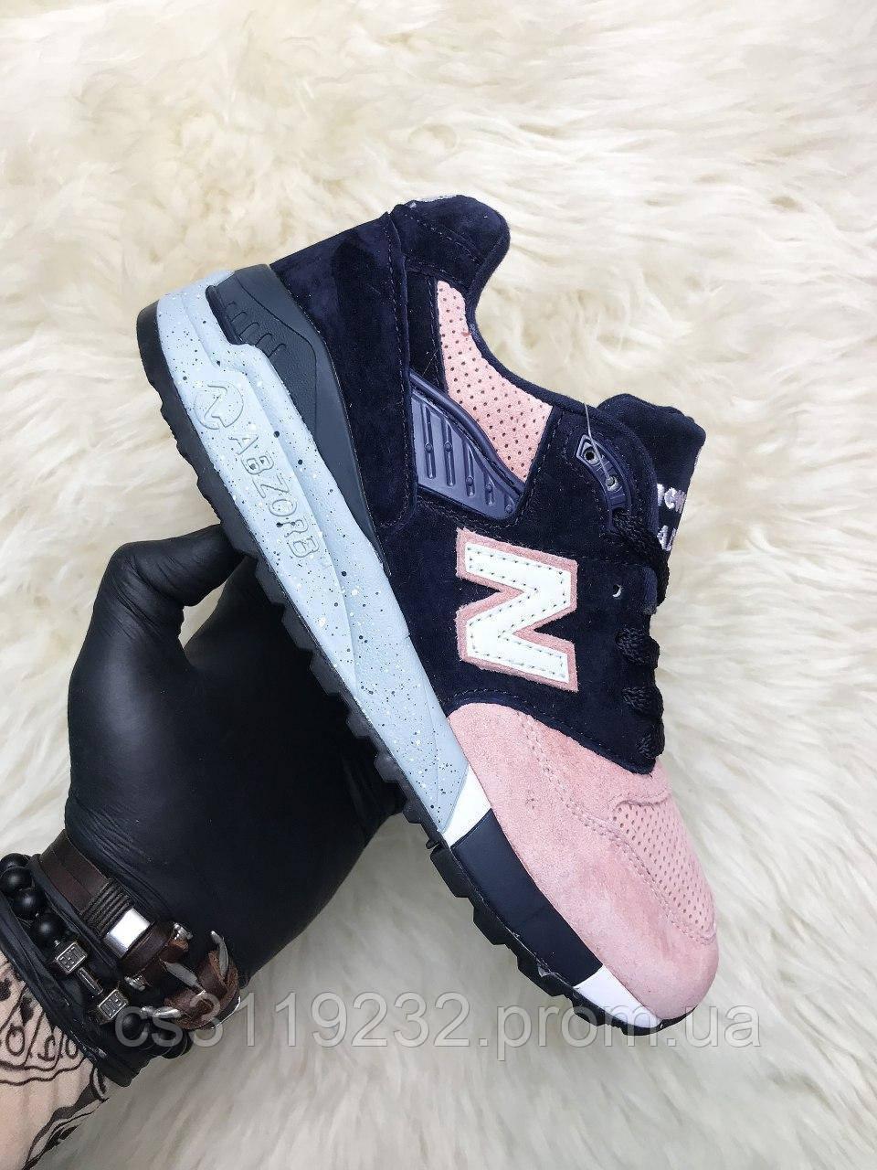 Чоловічі кросівки New Balance 998 Salmon (сині)
