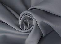 Портьерная ткань для штор Блэкаут серого цвета (Sunrise HXN BK220-24/280 BL)