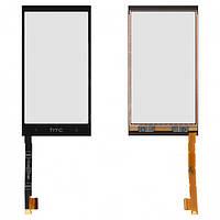 Сенсорный экран (touchscreen) для HTC One mini 601n, черный, оригинал