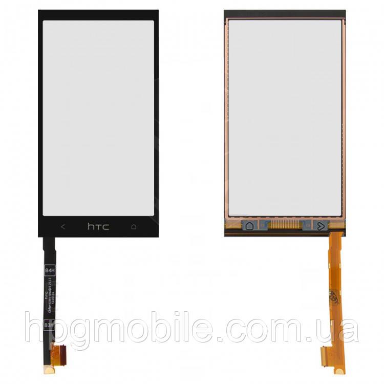 Сенсорный экран для HTC One mini 601n, черный, оригинал