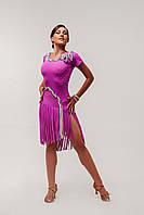 Платье для латиноамериканских танцев «Косичка»
