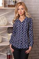 Стильная блуза из штапеля