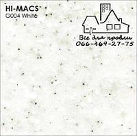 Акриловыйкамень LG Hi-Macs Granite G004 White Quartz Днепр