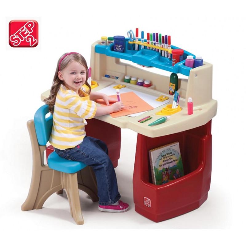 Письмовий стіл зі стільцем Step2 7025