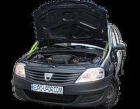 Газовый упор капота (амортизатор капота) для Renault Logan / Рено Логан (2004-2013)