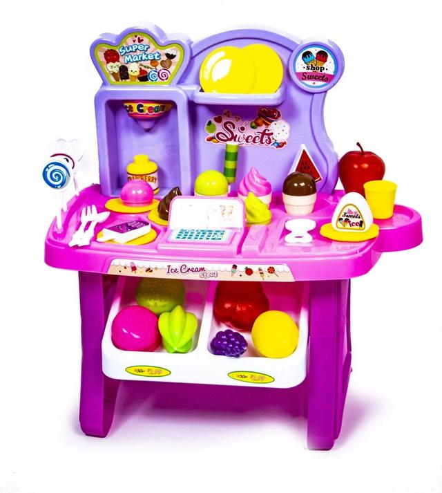 Дитячий прилавок солодощів рожевий 922-55