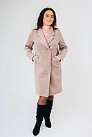 """Женское Пальто """"Анжелика"""" из пальтовой шерсти на подкладке. Размер - 50. 52. 54. 56. 58"""