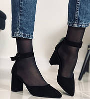 Женские туфли на каблуке 7 см размер 35 - 40
