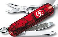 Качественный складной нож Victorinox Signature Lite 06226.T красный