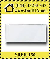 Теплый плинтус UDEN-150, 750х130х35, белый