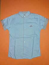 Сорочка Dast Gardin короткий рукав блакитна на ріст 134 див. Туреччина