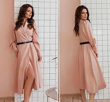 Оригінальне плаття з рогожки Розміри 42-44,46-48, фото 3