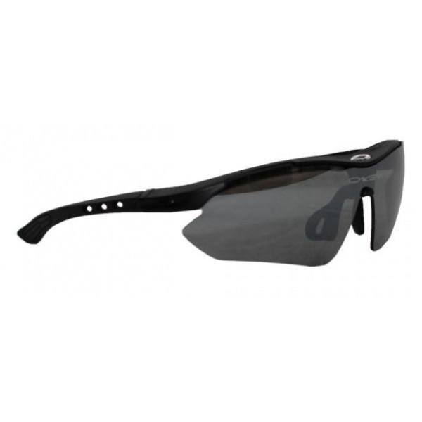 Тактические очки Oakley Sports Black с 5 сменными линзами и защитой UV400 - МАРКЕТПРОФИ в Киеве