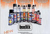 Санитарный силиконовый герметик  310мл Прозрачный BUDFIX  210S