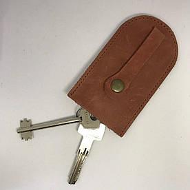 Ключница v.3.0. Fisher Gifts BUSSINES кирпич (кожа)