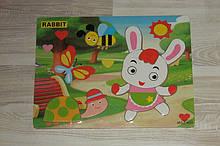 Деревянная игрушка  Рамка-вкладыш  арт 31531