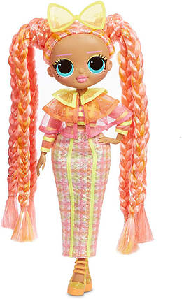 Кукла ЛОЛ ОМГ Светящаяся Даззл Неоновые огни L.O.L Surprise! O.M.G. Lights Dazzle Fashion, фото 2