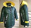 Модные куртки для девочек весна осень с капюшоном, фото 9