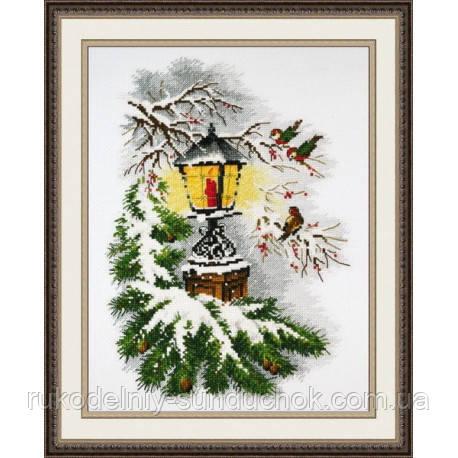"""Набор для вышивки крестом ТМ Овен """"Волшебный фонарь"""" 867"""