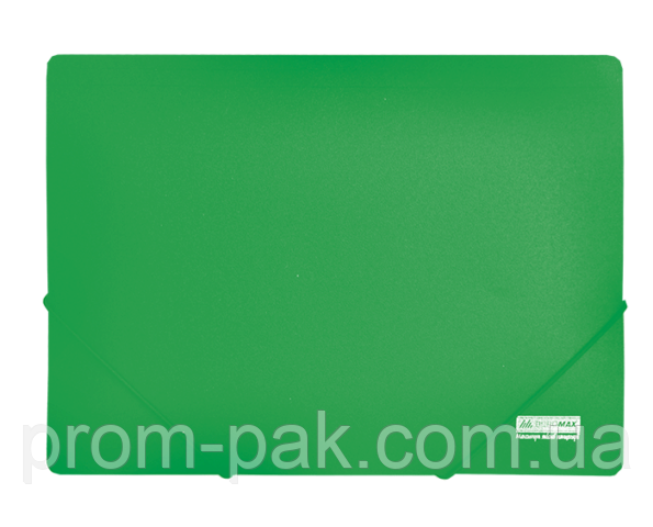 Папка  А4 на резинеке  JOBMAX,зеленый