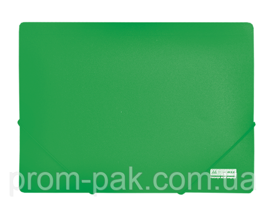 Папка  А4 на резинеке  JOBMAX,зеленый, фото 2